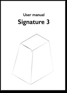 Signature 3 User Manual
